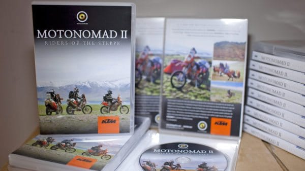 Motonomad II DVDs